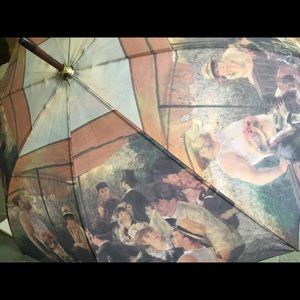 """Renoir Umbrella ☂ """"Luncheon of the Boating Party"""""""